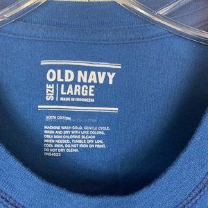 Old Navy Shirts - Long sleeve men's soft T-shirt
